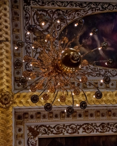 One of the Chandeliers at the Whitehall Palaces Banqueting Hall
