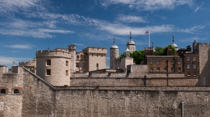 Tower of London from outside the western walls