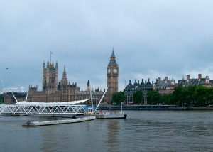 Houses of Parliament from River
