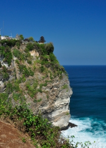 Ulluwatu Temple on top of the cliffs